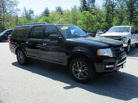 2017 Ford Expedition EL for sale at MC FARLAND FORD in Exeter NH