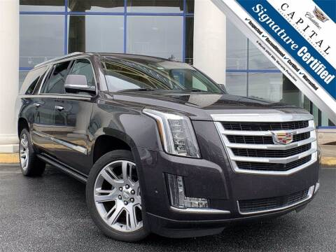 2017 Cadillac Escalade ESV for sale at Southern Auto Solutions - Capital Cadillac in Marietta GA