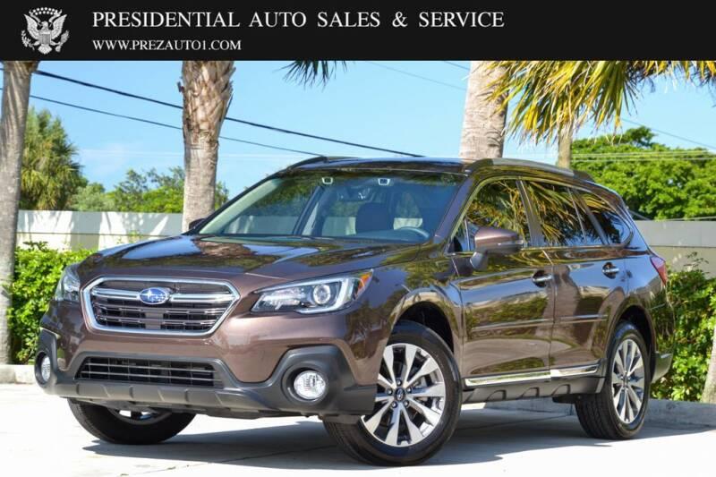 2019 Subaru Outback for sale at Presidential Auto  Sales & Service in Delray Beach FL