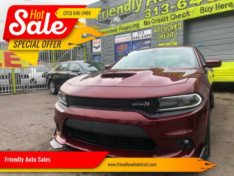 2019 Dodge Charger for sale at Friendly Auto Sales in Detroit MI