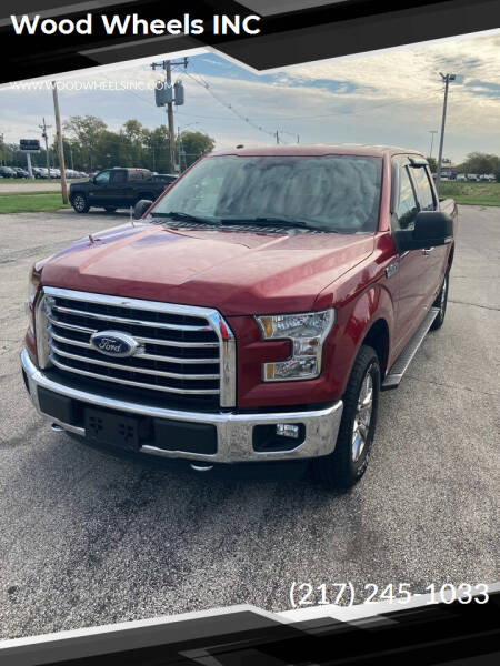 2015 Ford F-150 for sale at Wood Wheels INC in Jacksonville IL