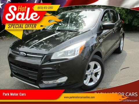 2015 Ford Escape for sale at Park Motor Cars in Passaic NJ