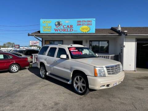 2005 Cadillac Escalade for sale at CAR WORLD in Nampa ID