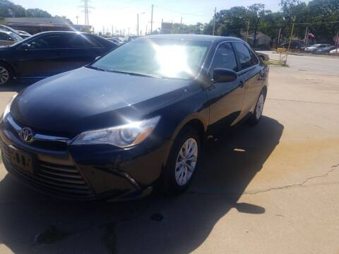 2015 Toyota Camry for sale at Nile Auto in Fort Worth TX