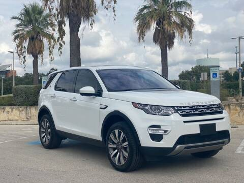 2017 Land Rover Discovery Sport for sale at Motorcars Group Management - Bud Johnson Motor Co in San Antonio TX
