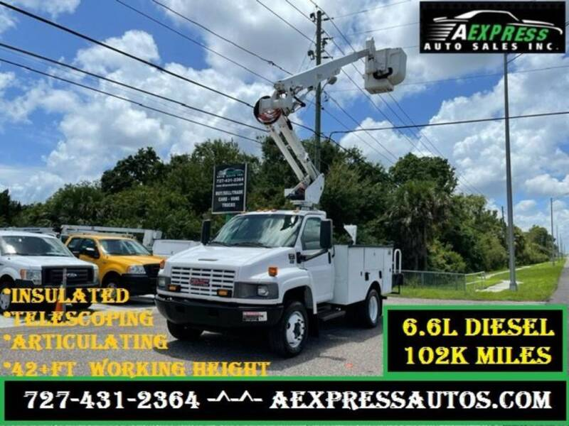 2006 GMC C5500 for sale at A EXPRESS AUTO SALES INC in Tarpon Springs FL