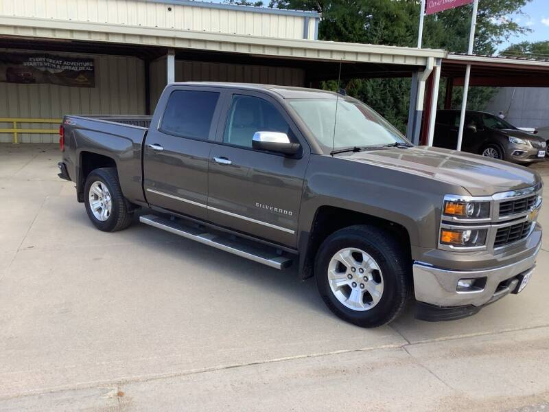 2014 Chevrolet Silverado 1500 for sale at Faw Motor Co - Faws Garage Inc. in Arapahoe NE