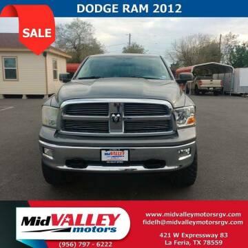 2012 RAM Ram Pickup 1500 for sale at Mid Valley Motors in La Feria TX