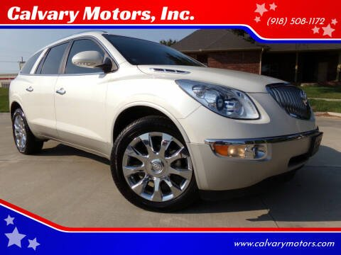2012 Buick Enclave for sale at Calvary Motors, Inc. in Bixby OK