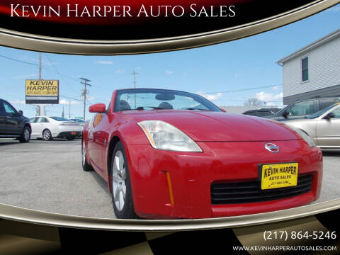 2005 Nissan 350Z for sale at Kevin Harper Auto Sales in Mount Zion IL