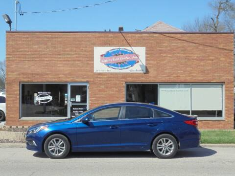 2017 Hyundai Sonata for sale at Eyler Auto Center Inc. in Rushville IL