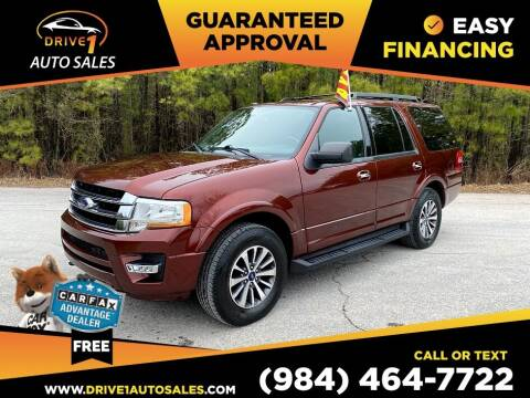 2017 Ford Expedition for sale at Drive 1 Auto Sales in Wake Forest NC