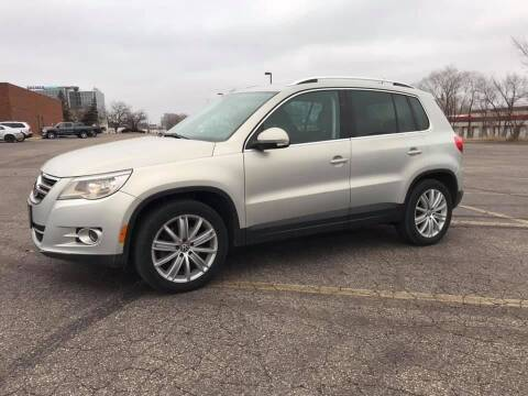 2010 Volkswagen Tiguan for sale at Angies Auto Sales LLC in Newport MN
