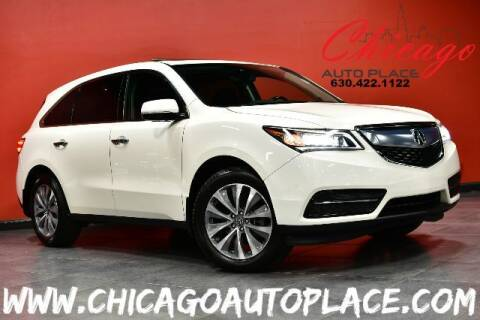 2016 Acura MDX for sale at Chicago Auto Place in Bensenville IL