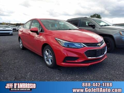 2018 Chevrolet Cruze for sale at Jeff D'Ambrosio Auto Group in Downingtown PA