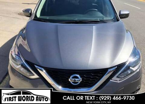 2019 Nissan Sentra for sale at First World Auto in Jamaica NY