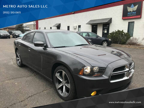 2014 Dodge Charger for sale at METRO AUTO SALES LLC in Blaine MN