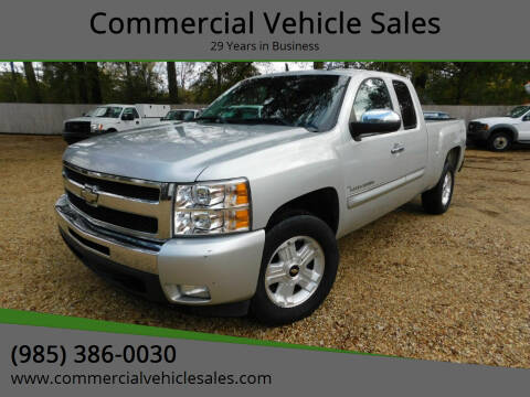 2011 Chevrolet Silverado 1500 for sale at Commercial Vehicle Sales in Ponchatoula LA