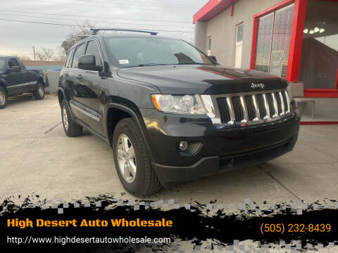2013 Jeep Grand Cherokee for sale at High Desert Auto Wholesale in Albuquerque NM