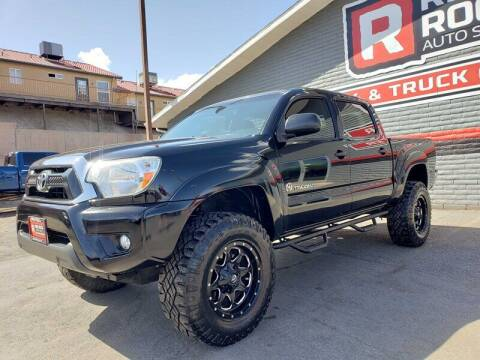 2014 Toyota Tacoma for sale at Red Rock Auto Sales in Saint George UT
