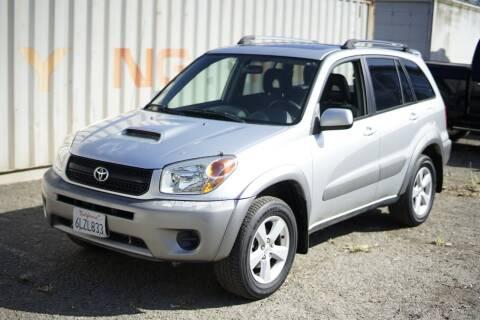 2004 Toyota RAV4 for sale at Sports Plus Motor Group LLC in Sunnyvale CA