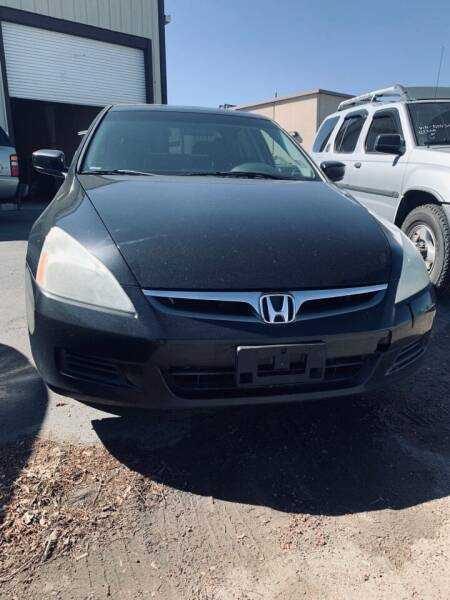 2007 Honda Accord for sale at City Auto Sales in Sparks NV