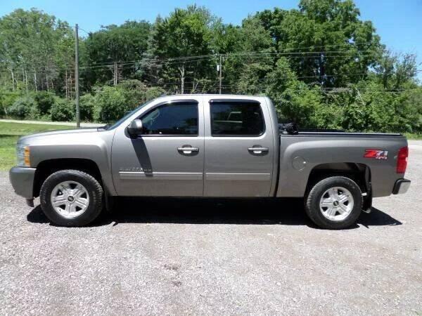 2013 Chevrolet Silverado 1500 for sale at Apex Auto Sales LLC in Petersburg MI