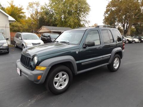 2005 Jeep Liberty for sale at Goodman Auto Sales in Lima OH