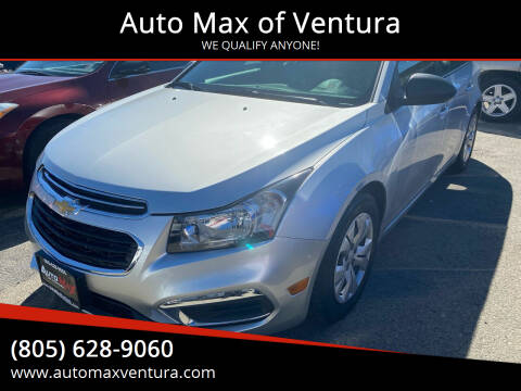 2016 Chevrolet Cruze Limited for sale at Auto Max of Ventura in Ventura CA