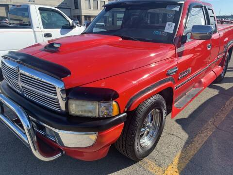 1996 Dodge Ram Pickup 1500 for sale at Trocci's Auto Sales in West Pittsburg PA