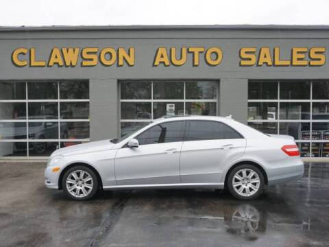 2013 Mercedes-Benz E-Class for sale at Clawson Auto Sales in Clawson MI