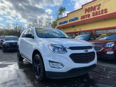 2017 Chevrolet Equinox for sale at Popas Auto Sales in Detroit MI
