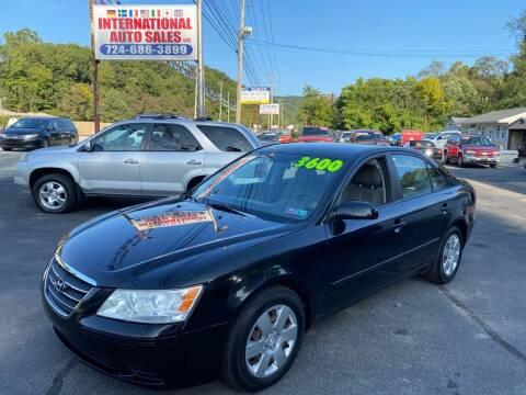 2009 Hyundai Sonata for sale at INTERNATIONAL AUTO SALES LLC in Latrobe PA