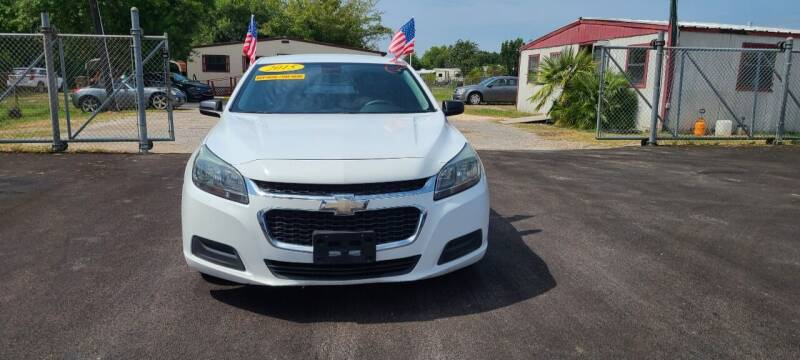 2015 Chevrolet Malibu for sale at Fabela's Auto Sales Inc. in Dickinson TX