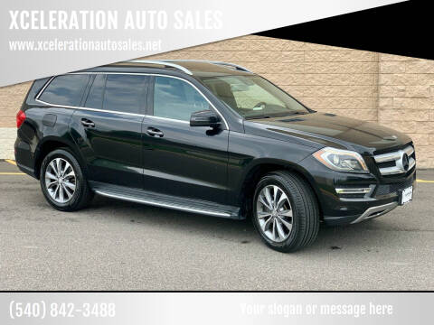 2013 Mercedes-Benz GL-Class for sale at XCELERATION AUTO SALES in Chester VA