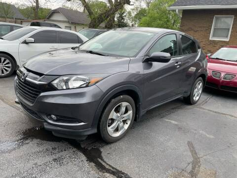 2016 Honda HR-V for sale at JE Auto Sales LLC in Indianapolis IN