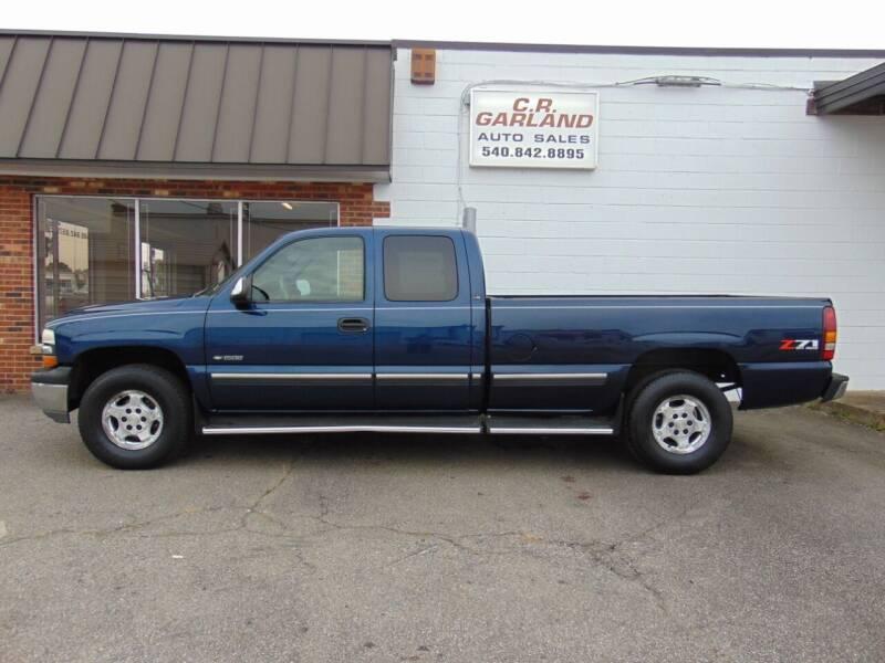 2002 Chevrolet Silverado 1500 for sale at CR Garland Auto Sales in Fredericksburg VA