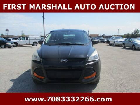2013 Ford Escape for sale at First Marshall Auto Auction in Harvey IL