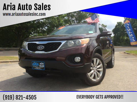 2011 Kia Sorento for sale at ARIA  AUTO  SALES in Raleigh NC