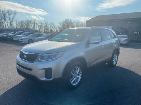 2014 Kia Sorento for sale at Paul Hiltbrand Auto Sales LTD in Cicero NY
