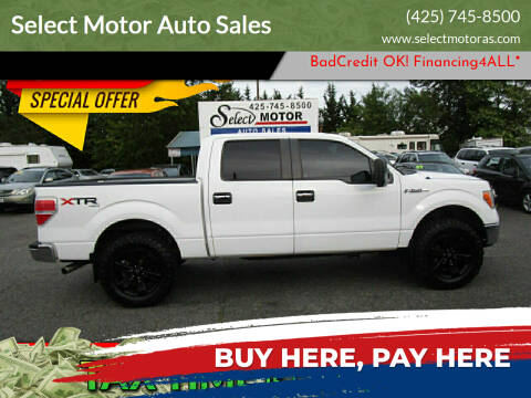 2012 Ford F-150 for sale at Select Motor Auto Sales in Lynnwood WA