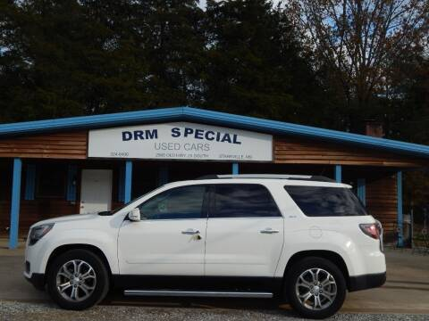 2015 GMC Acadia for sale at DRM Special Used Cars in Starkville MS