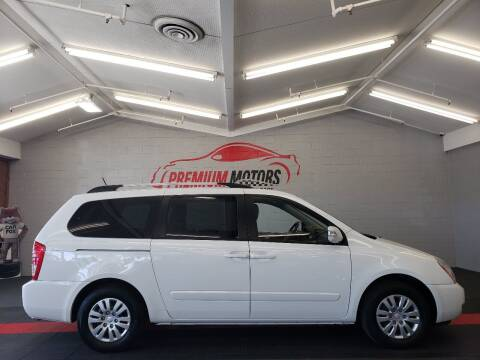 2011 Kia Sedona for sale at Premium Motors in Villa Park IL