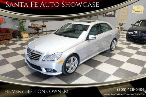 2010 Mercedes-Benz E-Class for sale at Santa Fe Auto Showcase in Santa Fe NM