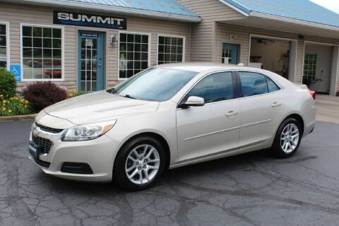 2014 Chevrolet Malibu for sale at Summit Motorcars in Wooster OH