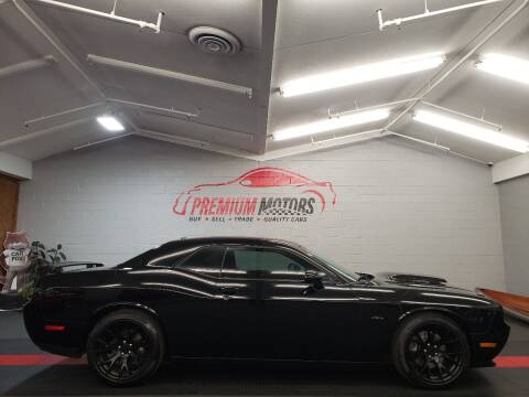 2014 Dodge Challenger for sale at Premium Motors in Villa Park IL