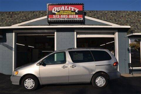 2003 Toyota Sienna for sale at Quality Pre-Owned Automotive in Cuba MO