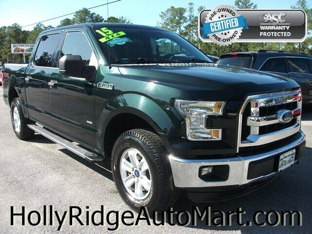 2015 Ford F-150 for sale at Holly Ridge Auto Mart in Holly Ridge NC
