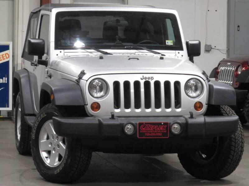 2011 Jeep Wrangler for sale at CarPlex in Manassas VA