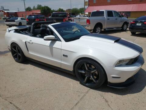2012 Ford Mustang for sale at Apex Auto Sales in Coldwater KS